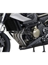 Czarne Crashbary Yamaha XJ 6 [08-]/ XJ6 Diversion [08-]