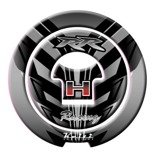 FUEL CAP KEITI HONDA BLACK RACING RR