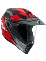 Kask AGV AX-8 DUAL EVO KARAKUM BLACK/GUNMENTAL/RED