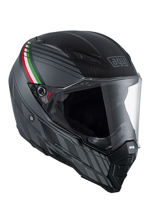 Kask AGV AX-8 NAKED CARBON/ BLACK FOREST MATT CARBON/GREY/ITALY