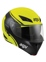 Kask AGV COMPACT MULTI COURSE / YELLOW/BLACK