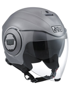 Kask AGV FLUID MONO - MATT GREY