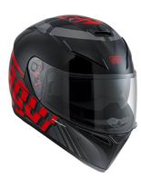 Kask AGV K-3 SV - MYTH BLACK/GREY/RED