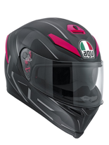 Kask AGV K-5 / YOU BLACK/MATT-FUXIA