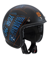 Kask AGV RP60 /MULTI - BLACKBOARD MATT BLACK/BLUE/ORANGE