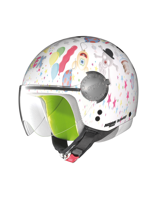 Kask Otwarty GREX G1.1 FANCY WHITE 2