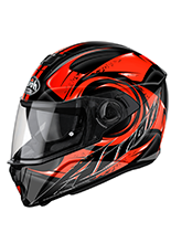 Kask motocyklowy AIROH Storm Anger Orange