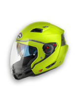 Kask motocyklowy Airoh Executive Color Zólty
