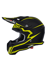Kask motocyklowy Airoh Terminator 2.1 Fit Yellow