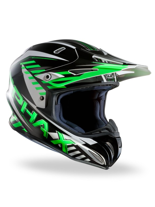 Kask off-road HJC RPHA X SCHUMA BLACK/WHITE/GREEN