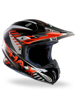 Kask off-road HJC RPHA X SCHUMA BLACK/WHITE/RED