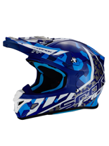 Kask off-road Scorpion VX-21 AIR Furio Blue
