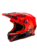Kask off-road Scorpion VX-21 AIR MUDIRT Red