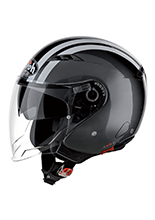 Kask otwarty Airoh City One Flash Anthracite