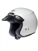 Kask otwarty SHOEI RJ PLATINUM-R WHITE