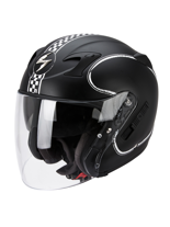 Kask otwarty Scorpion EXO-220 BIXBY Black Matt