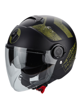 Kask otwarty Scorpion EXO-CITY HERITAGE Green
