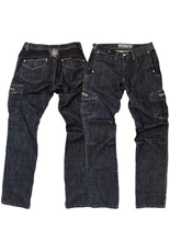 Spodnie jeans Freestar NIGHT RIDER