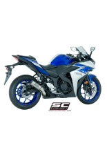 Tłumik CR-T Slip-on SC-Project do Yamaha YZF-R3 [15-17]