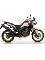 Tłumik LeoVince SLIP-ON NERO STAINLESS STEEL do HONDY CRF 1000L AFRICA TWIN [16']