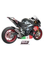 Tłumik SLIP-ON CR-T SC-Project do Aprilia RSV4 RF/RR 15-16