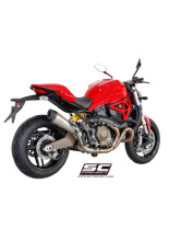 Tłumik stożkowy Slip-on SC-Project do Ducati MONSTER 821 [14-17]