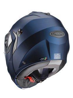 9d7b7da368f89 Szczękowy kask motocyklowy CABERG DUKE II niebieski