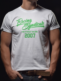 T-shirt 4SR RS White