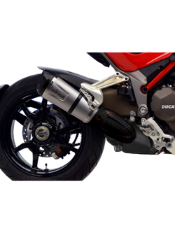 Tłumik LeoVince SLIP-ON FACTORY S INOX CAN do DUCATI MULTISTRADA 1200S D/ AIR [15-16]