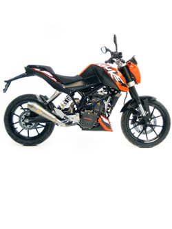 Tłumik LeoVince SLIP-ON GPSTYLE STAINLESS STEEL do KTM DUKE 200 i.e. [12-15]