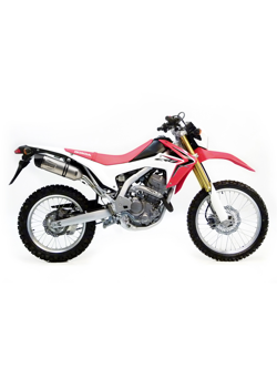 Tłumik LeoVince SLIP-ON LV ONE EVO STAINLESS STEEL RACING do HONDY CRF 250L i.e. [12-13]